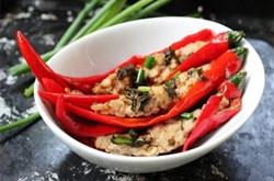 Cách làm món ớt nhồi thịt