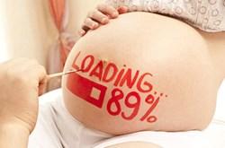 Dấu hiệu mẹ bầu chuyển dạ sắp sinh con