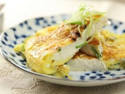 Cách làm món trứng chiên đậu phụ ngon