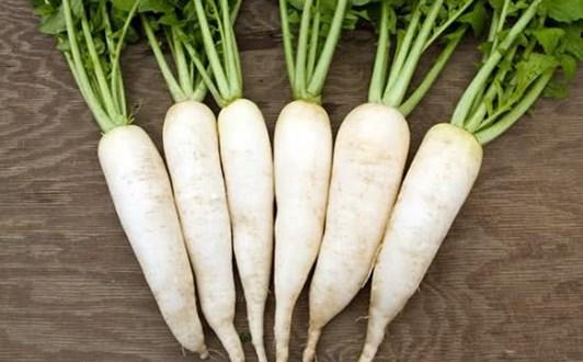 Món ăn bài thuốc từ củ cải trắng