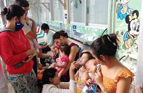 Các bệnh trẻ dễ mắc vào dịp tết