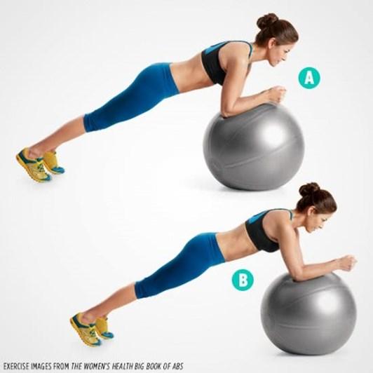 Động tác thể dục giúp vòng bụng săn chắc, thon gọn