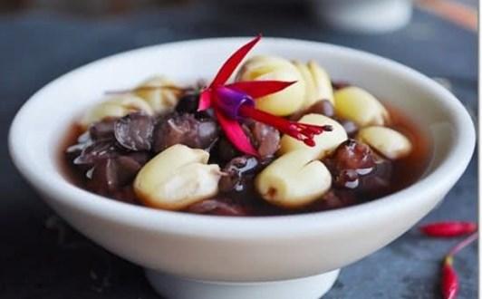 Cách nấu chè đậu đỏ hạt sen giải nhiệt mùa hè