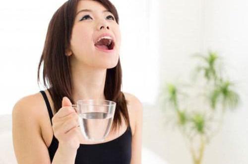 Cách làm nước súc miệng chữa viêm họng