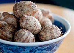 Món ăn - bài thuốc từ củ khoai sọ