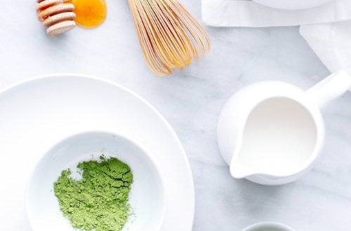 Cách tẩy da chết bằng hỗn hợp trà xanh