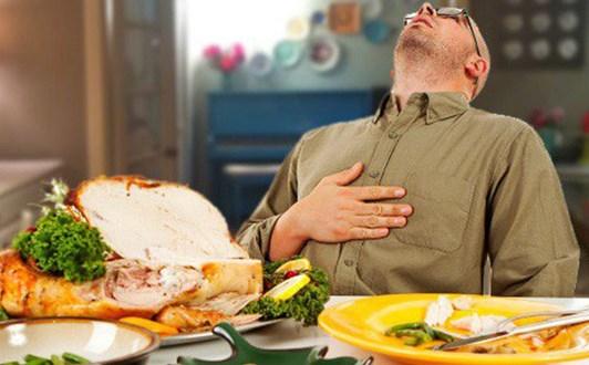Cải thiện tình trạng khó chịu sau khi ăn xong