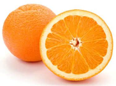 quả cam chứa nhiều canxi