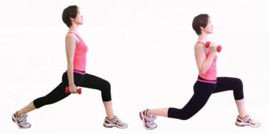 Giảm cân với yoga kết hợp tạ 2
