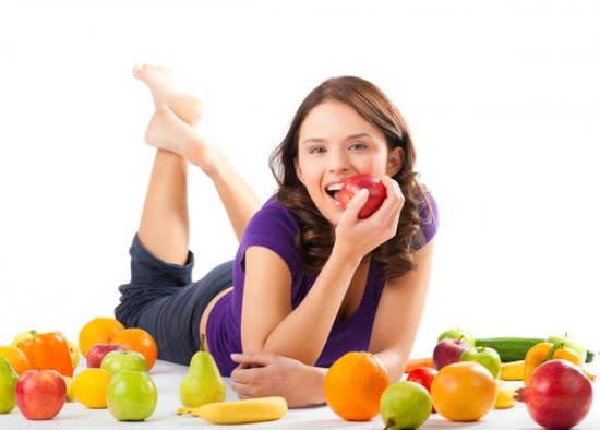 Viêm gan a ăn nhiều trái cây