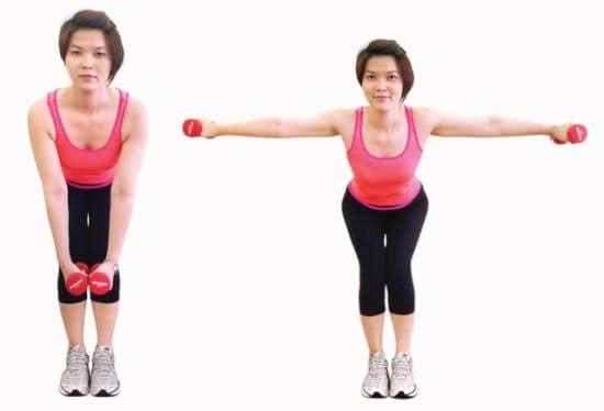 Giảm cân với yoga kết hợp tạ 1