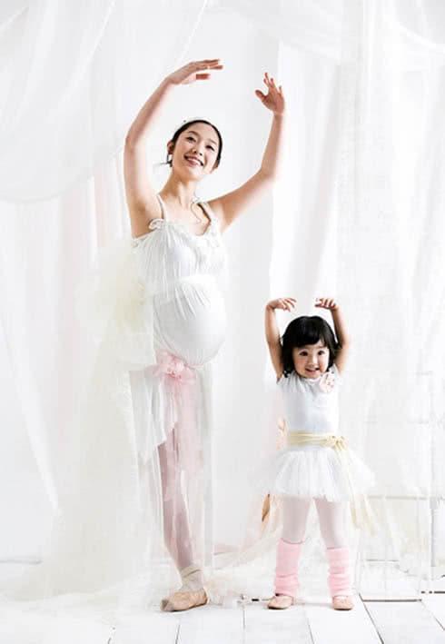 Mẹ bầu khiêu vũ
