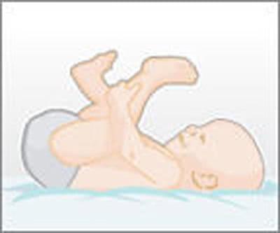 Mẹo thay tã dễ dàng cho trẻ 1