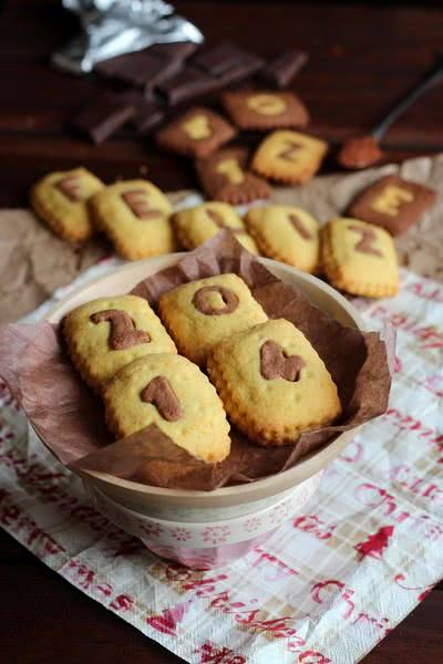 Tự làm món bánh quy lồng chữ đáng yêu