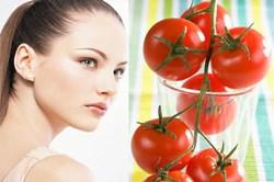 Tự làm kem trắng da bằng cà chua