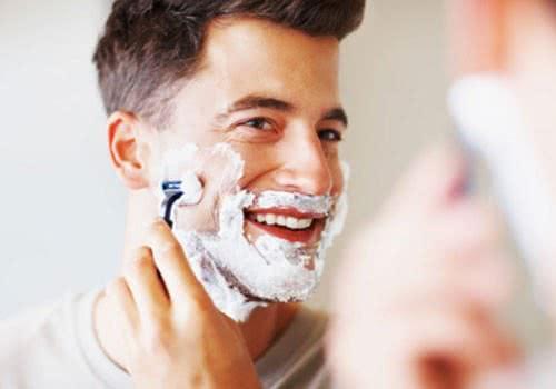 Lưu ý khi cạo râu cho đàn ông