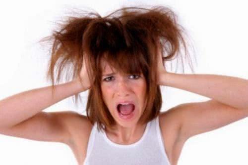 Tóc khô cứng, chăm sóc tóc khô cứng