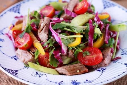 Salad bò kiểu thái lan