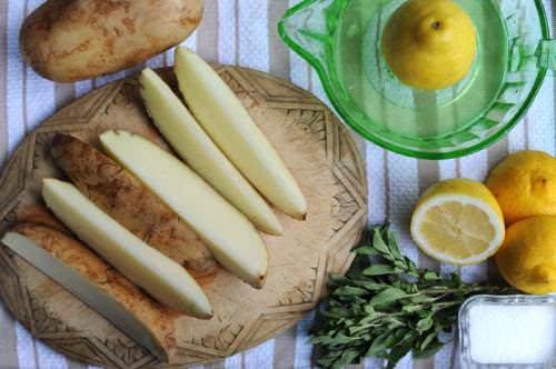 Nhuộm tóc bằng chanh và khoai tây