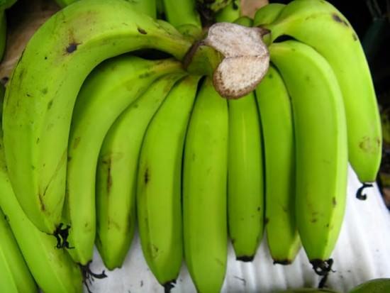 Chuối tiêu xanh chữa đau dạ dày