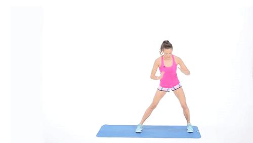 Động tác thể dục giúp đùi thon thả 3