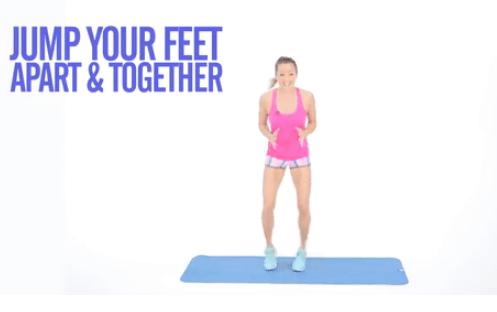 Động tác thể dục giúp đùi thon thả
