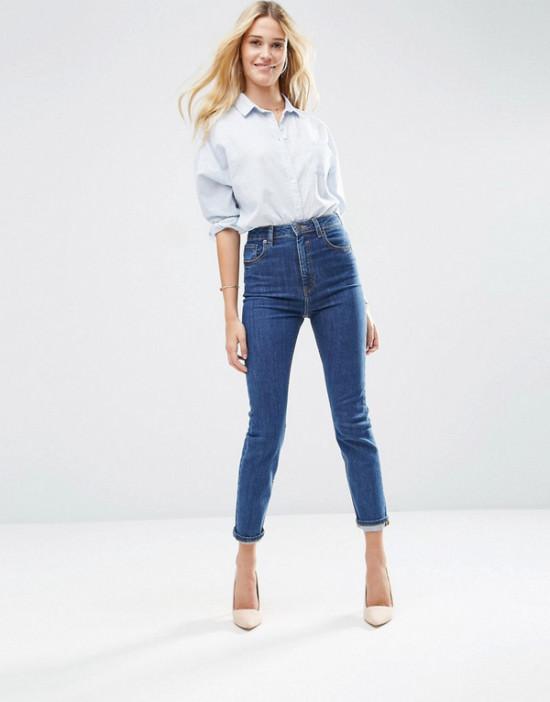 Chọn quần jean cho người lưng dài