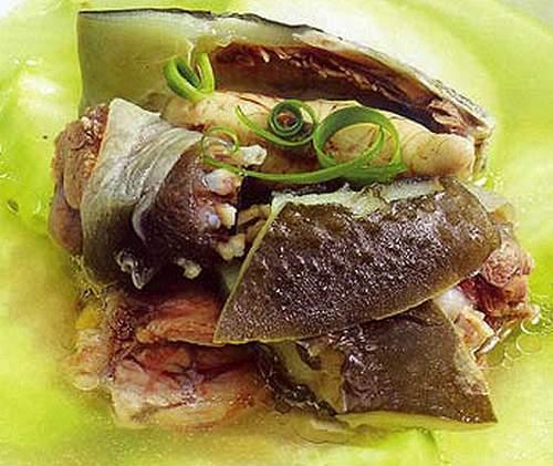 Rùa hầm, món ăn bài thuốc từ rùa