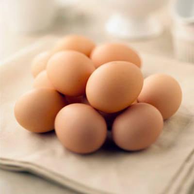 Trứng gà giúp xóa nếp nhăn