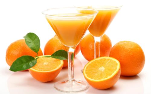 Nước cam giảm mỡ máu