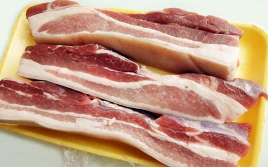 Chọn thịt lợn ba chỉ ngon